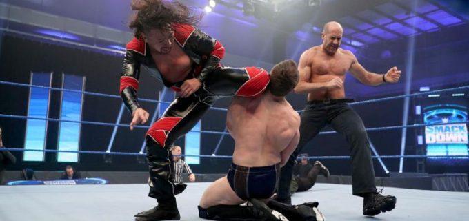 【WWE】中邑&ゼインが祭典直前にブライアンを襲撃KO!