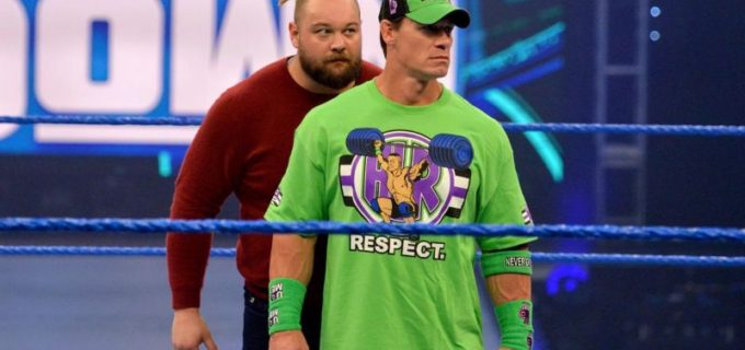 """【WWE】""""ザ・フィーンド""""ワイアットが祭典を前にシナに心理戦"""
