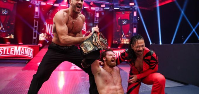 【WWE】中邑&セザーロのアシスト受けたゼインがIC王座防衛