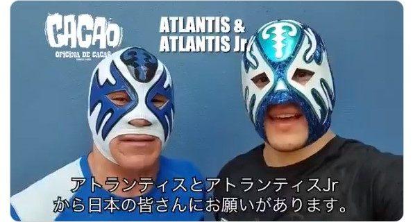 メキシコから「親愛なる日本のファンの皆さまへ」続々とメッセージが届く