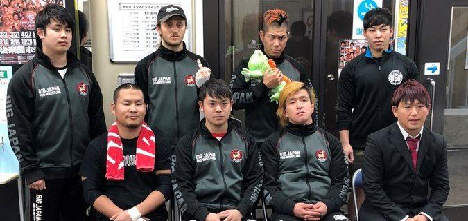 【大日本】4.25(土)22:00~「大日本プロレス~BJW TVマッチ」デスマッチ王座&ジュニアトーナメント前哨戦