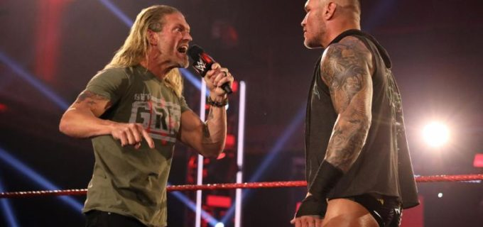 【WWE】エッジとオートンの再戦が「バックラッシュ」で決定