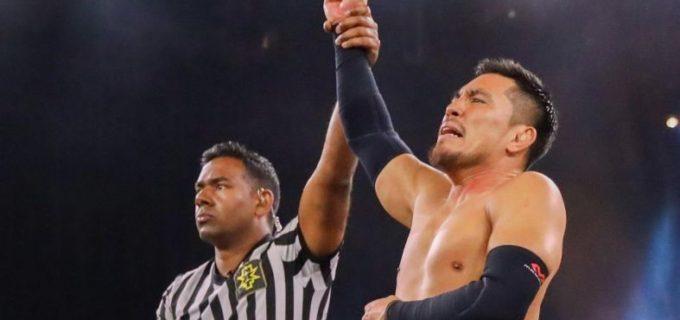 【WWE】戸澤、2連勝でクルーザー級王座奪還を射程範囲