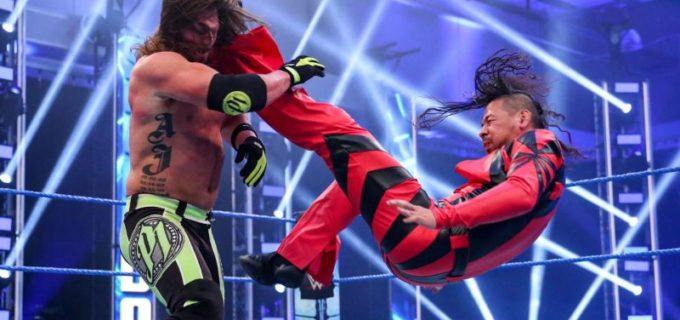 【WWE】中邑、宿敵AJスタイルズと激闘もトーナメント1回戦突破ならず