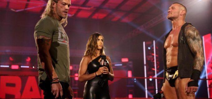 【WWE】オートンの再戦要求にエッジが無言