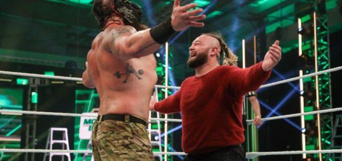 【WWE】ストローマンがワイアットに心理戦を仕掛けて王座防衛