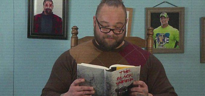 """【WWE】ワイアットが""""黒羊物語""""を読み聞かせてストローマンを挑発"""