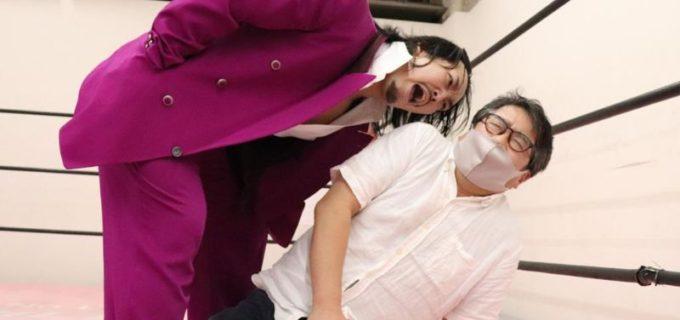 【DDT】リモートプロレス公開実験で納谷vs中村がシングル戦!元WRESTLE-1の立花誠吾が登場