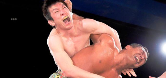【DDT】田中将斗が緊急決定試合で青木真也を破り、KO-D無差別級王座V4に成功!