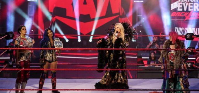 【WWE】アスカ、先週に続きナイアの妨害でシャーロットに黒星