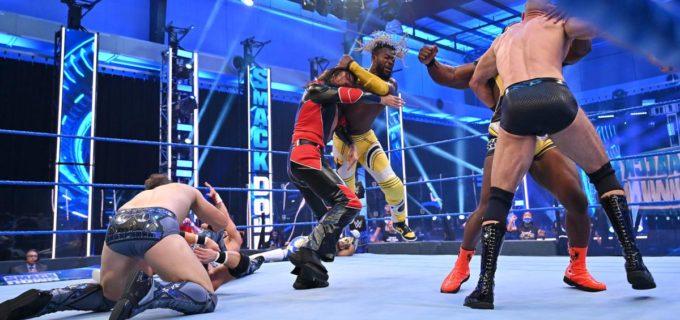 【WWE】中邑&セザーロとニュー・デイが8人タッグ戦で遺恨激化