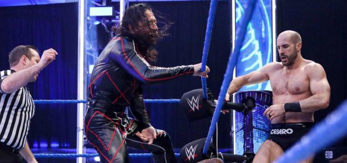 【WWE】中邑&セザーロがショーティG と6人タッグ戦で遺恨を深める