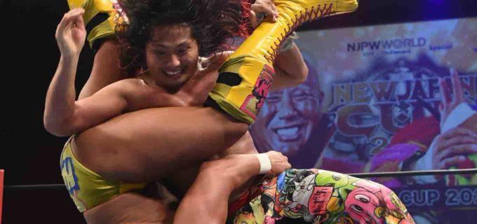 【新日本】『NEW JAPAN CUP』開幕!ヒロムがヘビー級の本間を撃破「ヘビー級の強さ、わかった!おもしれえな、優勝してやる!」