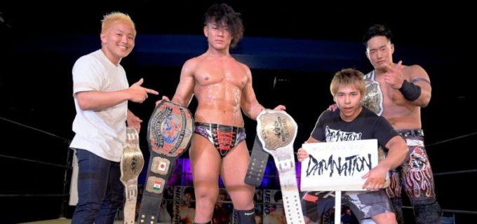 【DDT】遠藤哲哉が「いつどこ」行使の上野勇希を退けKO-D王座初V!6.27新宿でのタッグ王座挑戦決定で3冠獲りへ