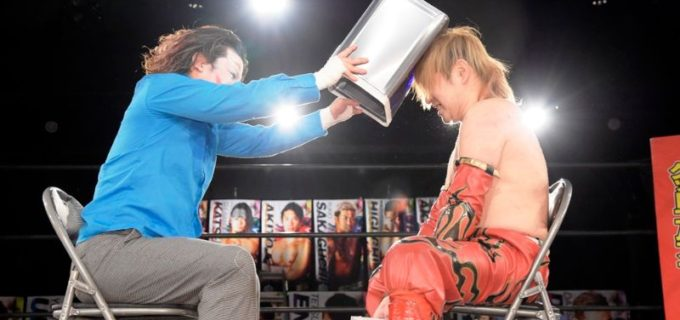 【DDT】6.6 WPP2020 Day1佐々木大輔がハードコア3WAY戦制しUNIVERSAL王座V3!次期挑戦者に負傷欠場中の高梨将弘を逆指名も…