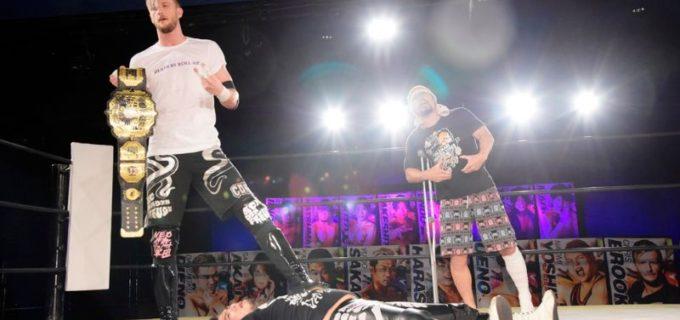 【DDT】UNIVERSAL王者・佐々木大輔、逆指名した高梨将弘がクリス・ブルックスに挑戦権を譲渡し6.27新宿で防衛戦