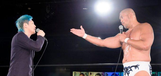 【DDT】渡瀬瑞基とのコンビで初勝利の秋山準がベテラン大石真翔と6.20新宿で一騎打ち!