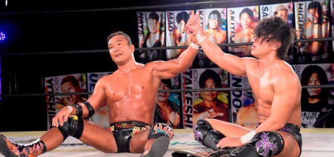 【DDT】6.7 WPP2020 Day2 遠藤哲哉が田中将斗を破ってKO-D無差別級王座を奪還し、次のさいたまSA大会での再会マッチを誓った!