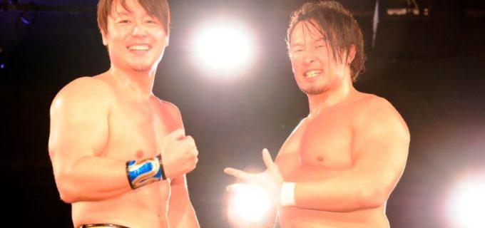 【DDT】6.7 WPP2020 Day2 HARASHIMA&丸藤正道がMAO,朱崇花組を下しCIMA&高尾蒼馬組との対戦を熱望!