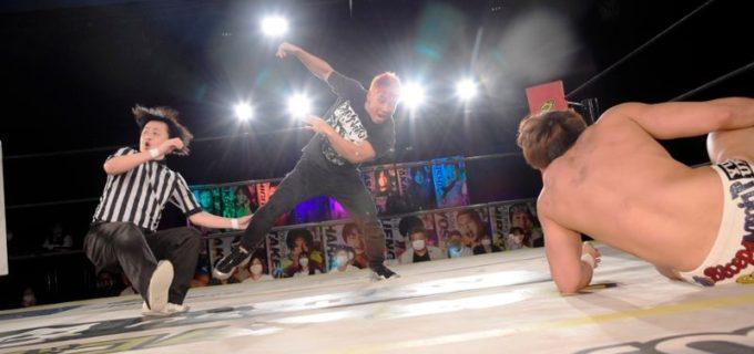 【DDT】6.27新宿でKO-Dタッグ王座に挑戦する島谷常寛が王者組を挑発!