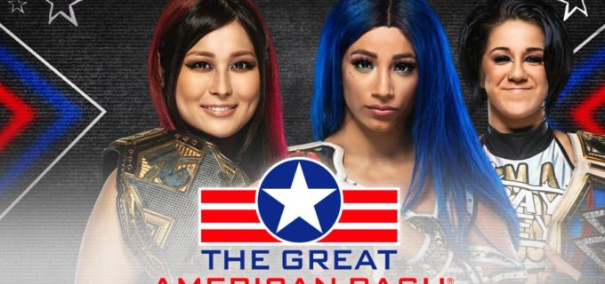 【WWE】<NXT>紫雷イオとサーシャ・バンクスのノンタイトル戦が決定!