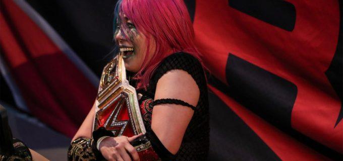 【WWE】アスカ、ナイアとの再戦勝利で2日連続の王座防衛