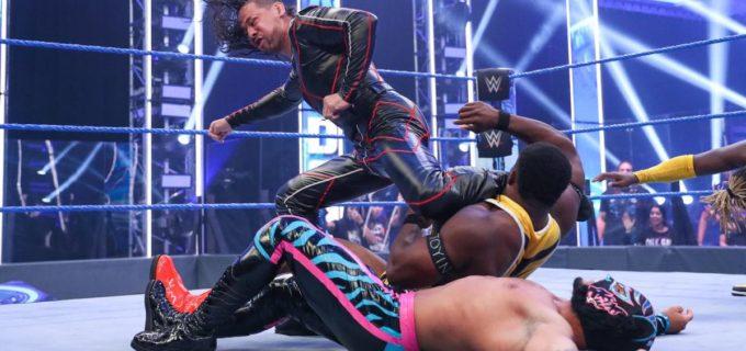 【WWE】中邑真輔&セザーロが王者ニュー・デイを急襲して不満爆発
