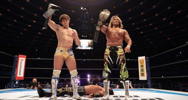 【新日本】タッグ決戦目前!8人タッグで両軍ヒートアップ