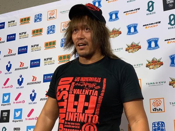 【新日本】内藤「久々にこのお客様の前でのプロレス……いや楽しいよ。楽しくてしょうがないね」