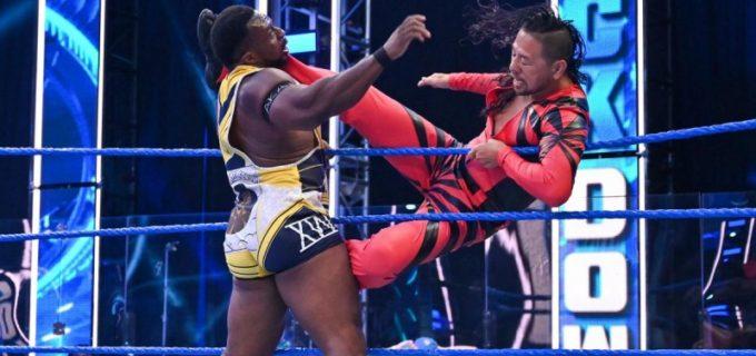 【WWE】中邑真輔&セザーロ対ニュー・デイのSDタッグ王座戦がPPVで決定