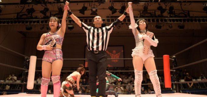 【東京女子】ハチャメチャなプリンセスタッグ戦は王者チーム「白昼夢」がタイトル死守!