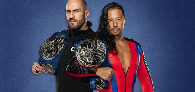 【WWE】「俺たちの時代だ」新SDタッグ王者・中邑真輔&セザーロが全チームに宣戦布告
