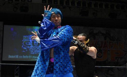 【新日本】川人拓来あらため「マスター・ワト」が凱旋もDOUKIが襲撃!ワトはシングルマッチを要求!