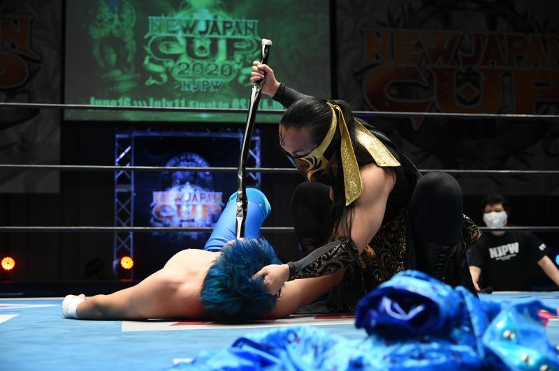 【新日本】EVILがSANADAにも非情攻撃で勝利、オカダがヒロムとの激戦を制して決勝戦進出!7.3(金)『NEW JAPAN CUP 2020』<全試合結果>