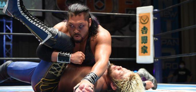【新日本】EVILが勝利への執念を見せSANADAに非情攻撃で勝利を掴み取る!『NJCUP』7.3準決勝