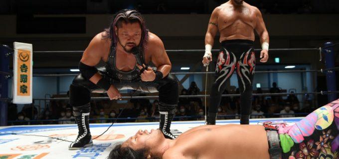 【新日本】ヒロムがバレットクラブ入りの陽動作戦を仕掛けるもEVILに返り討ち!EVIL「名古屋の地で、ヒロムを地獄の底に葬ってやるよ」