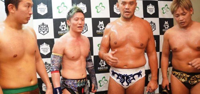 【DDT】秋山準が「オールアウト」大将・竹下幸之介から直接勝利!ユニット名決まった「準烈」が好発進