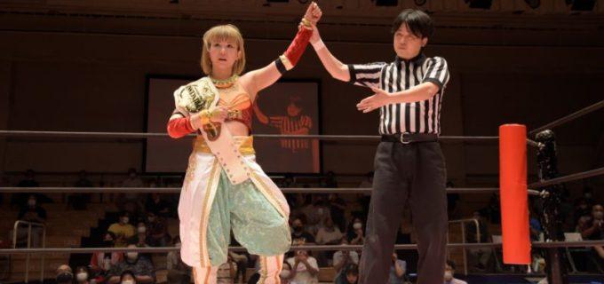 【東京女子】東京女子プロレスが半年ぶりの聖地・後楽園ホール凱旋!プリプリ王者・坂崎が後輩・ユキの奮闘を断ち切りV3!