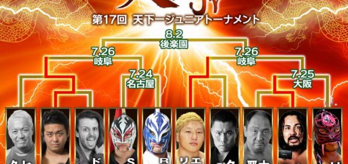 【ZERO1】7.19(日)新潟大会『第17回天下一ジュニアトーナメント2020』<全試合結果>