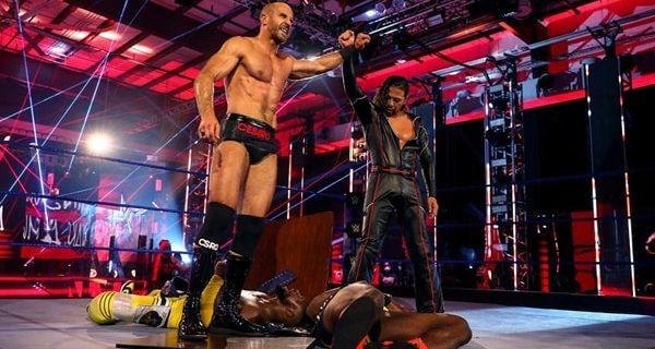 【WWE】中邑真輔&セザーロ、王座戦はノーコンテストもスーパーパワーボムでニュー・デイをKO