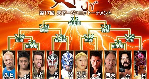 【ZERO1】RAICHO&エル・リンダマン天下一ジュニア参戦決定!天下一ジュニアトーナメント全出場選手が揃う
