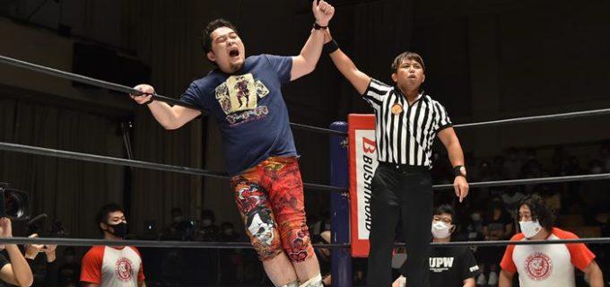 """【新日本】<KOPW>矢野が""""ピンフォール2カウントマッチ""""でBUSHIに丸め込み勝利!"""