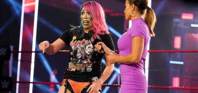 """【WWE】""""女帝""""アスカがサーシャにPPV「サマースラム」でのリベンジ戦を要求!"""