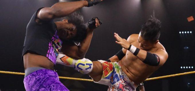 【WWE】KUSHIDAが三つ巴予選で善戦も北米王座決定ラダー戦出場届かず
