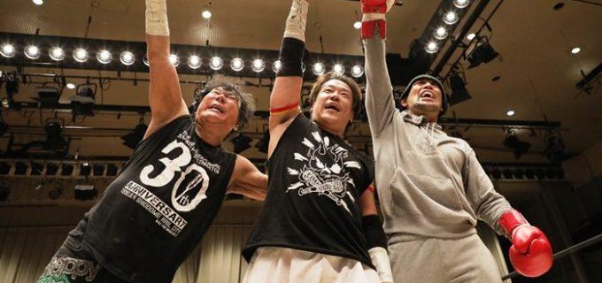 【ストリートファイトクラブ】大仁田軍がストリートファイトマッチで杉浦軍に激勝し、電流爆破デスマッチでの決着戦が浮上!