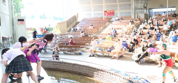 【アイスリボン】アイスリボン夏祭り2020 in 上野 「スプラッシュリボン」試合レポート 英語のみ試合に恐竜ソーシャルディスサウルスへライトセーバー!世羅vsあかねのFantast ICE戦が決着