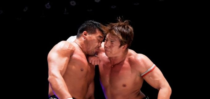 【DDT】樋口和貞が竹下幸之介とのド迫力マッチ制し「KING OF DDT」ベスト4入り!