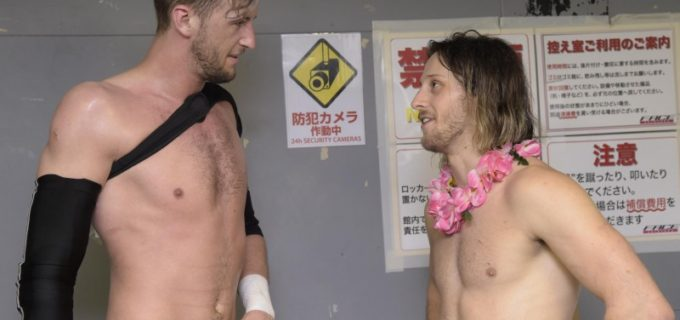 【DDT】9.7(月)後楽園大会にてUNIVERSAL選手権試合ノーDQマッチ、王者・クリス・ブルックス vs ドリュー・パーカー決定!