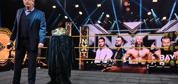 【WWE】新王者クロスの王座返上で元王者4人による60分アイアンマンNXT王座決定戦が決定
