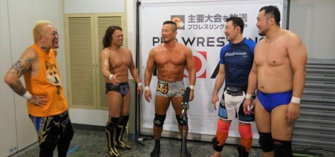 【爆破甲子園】8.25 『STREET FIGHT CLUB』に杉浦貴、NOSAWA論外、カズ・ハヤシ参戦決定